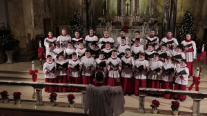 1 full choir singing
