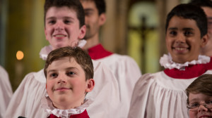 Boys Choir Closeup