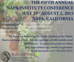 Napa Institute - Summer 2015