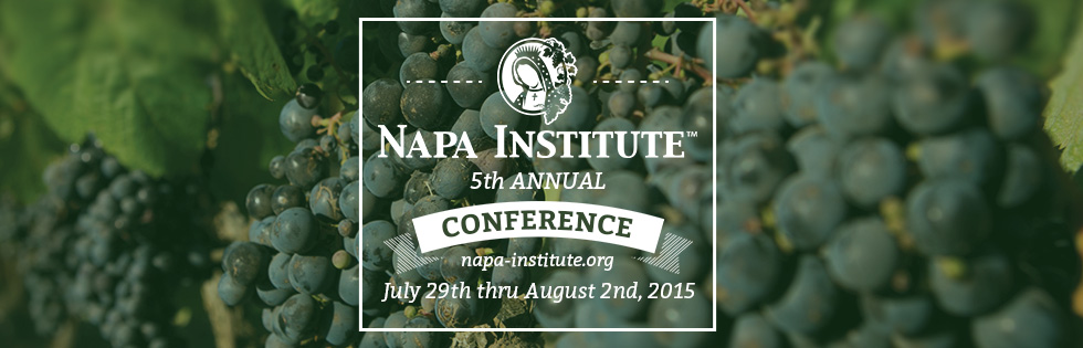 Are you going to the Fifth Annual Napa Institute Conference?